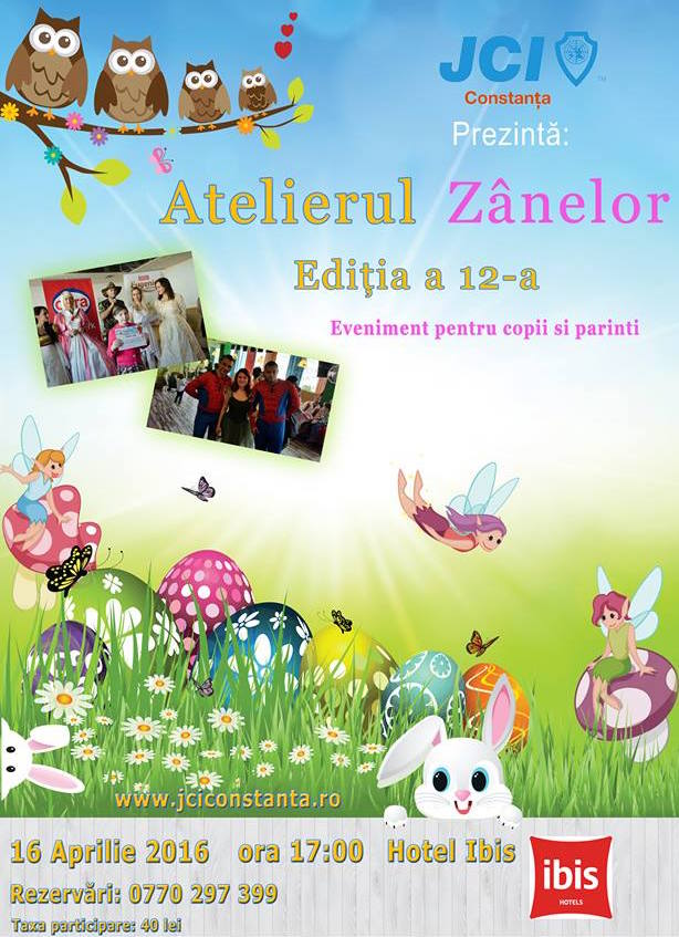 "Afiș ""Atelierul Zânelor"" ediția 12"