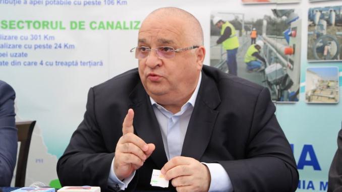 Felix Stroe, președintele organizației județene PSD Constanța. FOTO Adrian Boioglu