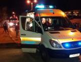 Ambulanță la intervenție