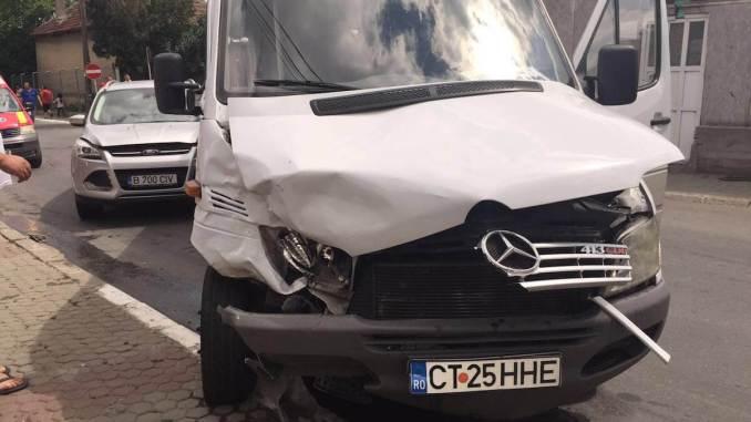 Accident de microbuz în Medgidia