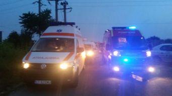 Ambulanțele au venit în ajutorul victimelor