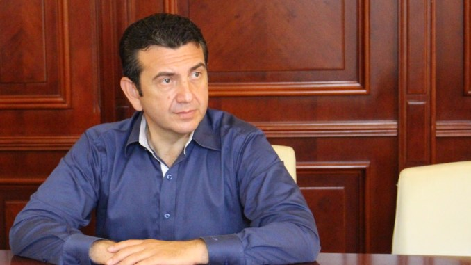 Claudiu Iorga Palaz, vicepreședintele Consiliului Județean Constanța. FOTO Adrian Boioglu