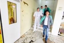 Conducerea Consiliului Județean Constanța la Spitalul de Urgență Constanța