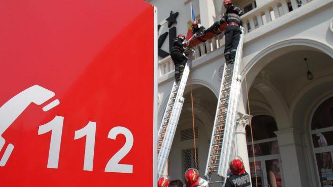 Intervenție a pompierilor militari