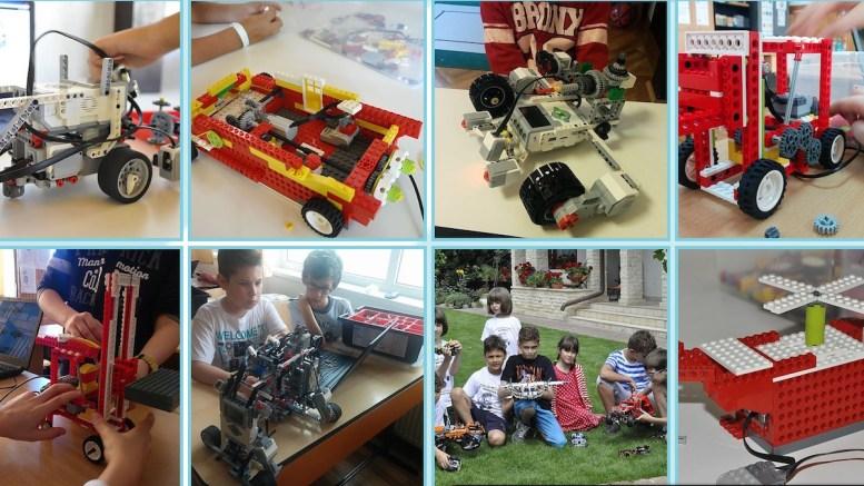 Cursiva, Școala de robotică
