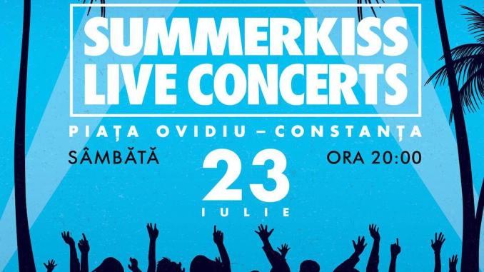 Afiș Summerkiss la Constanța