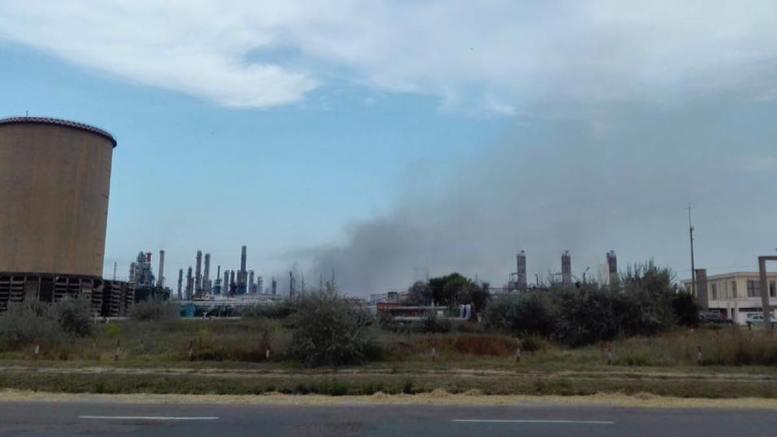 Explozie la rafinăria Petromidia