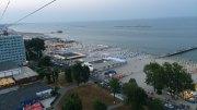 Plaja din stațiunea Mamaia. FOTO Adrian Boioglu