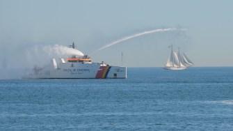 Nava Ștefan cel Mare a Poliției de Frontieră la Ziua Marinei Române. FOTO Adrian Boioglu