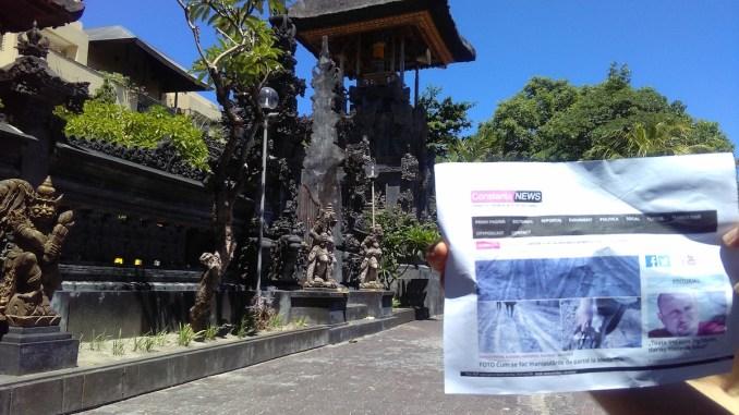 Constanța NEWS în Bali, Indonezia. FOTO Adi O.