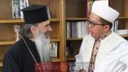 IPS Teodosie si Muftiul Iusuf Muurat. FOTO Adrian Boioglu