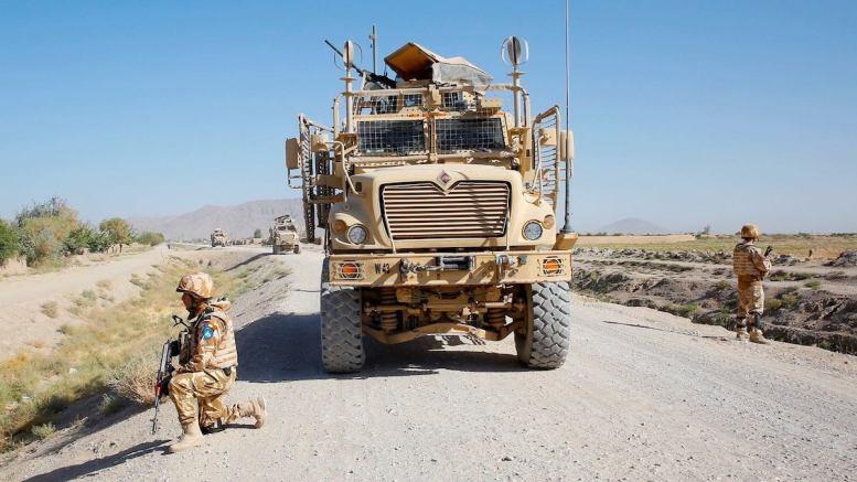 Militari români în Afganistan. FOTO Facebook/MAPN