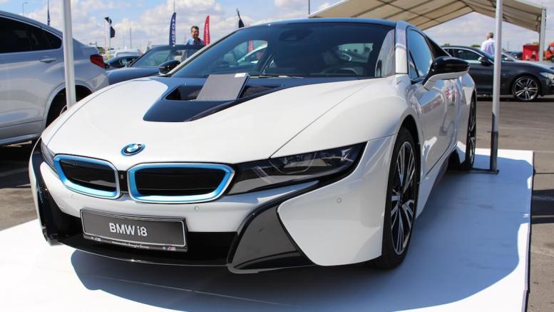 BMW i8 la Salonul Auto Maritimo. FOTO Adrian Boioglu