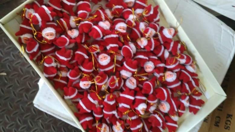 Moș Crăciun de contrabandă. FOTO Garda de Coastă