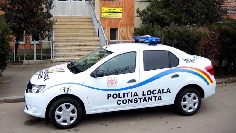 Poliția Locală Constanța. FOTO Facebook