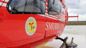 Elicopterul SMURD Constanța. FOTO Adrian Boioglu