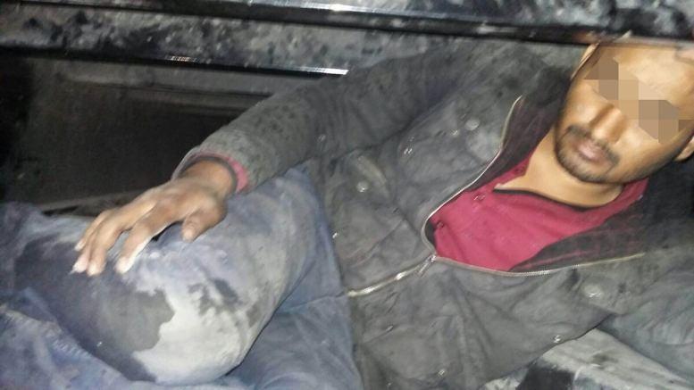 Migrantul pakistanez a fost predat anchetatorilor bulgari. FOTO Garda de Coastă