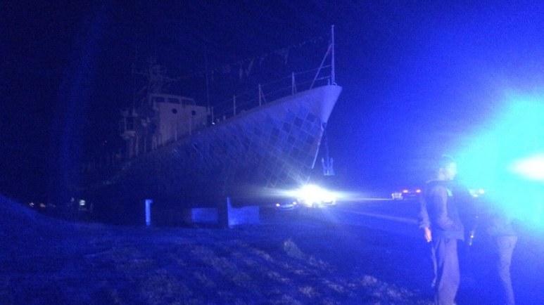 Paznicul de la vaporaș a fost omorât. FOTO Adrian Boioglu