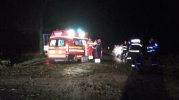 Medicii și pompierii la locul intervenției