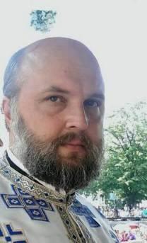Preotul Ioan-Valentin Istrati. FOTO Arhiva personală
