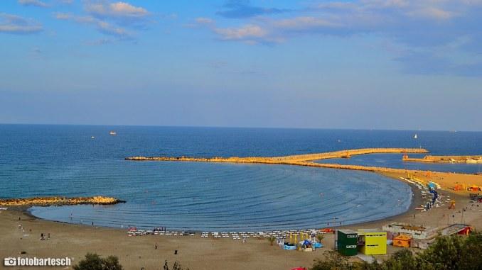Plaja Modern din Constanța. FOTO Andrei Bartesch
