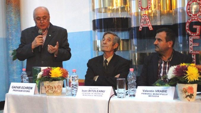 Valentin Vrabie, Ioan Bitoleanu și Gafar Echrem. FOTO Adrian Boioglu