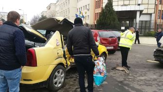 Accident la Academia Navală