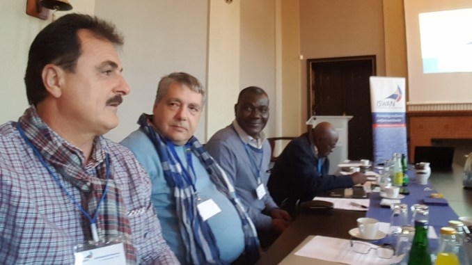 Liderul SLN, Adrian Mihălcioiu, la întâlnirea de la Copenhaga