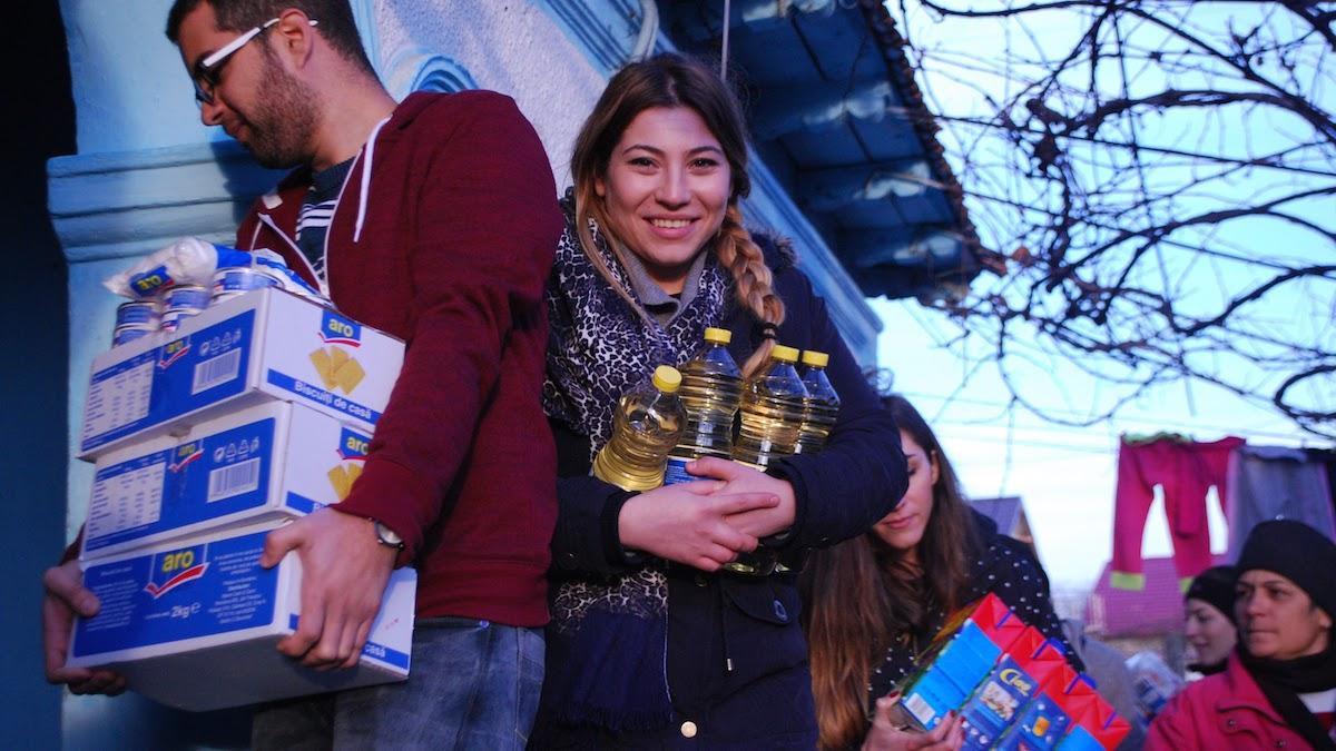 Cadouri pentru copiii din Siminoc