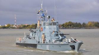 Instrucția marinarilor militari pe Dunăre. FOTO SMFN