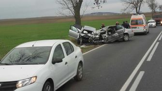Grav accident rutier la Hârșova