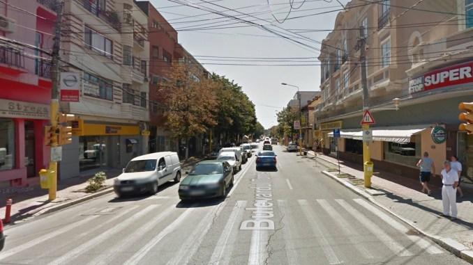 Bulevardul Tomis în zona Miga. FOTO Google Maps