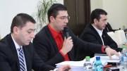 Conducerea Consiliului Județean Constanța. FOTO Adrian Boioglu