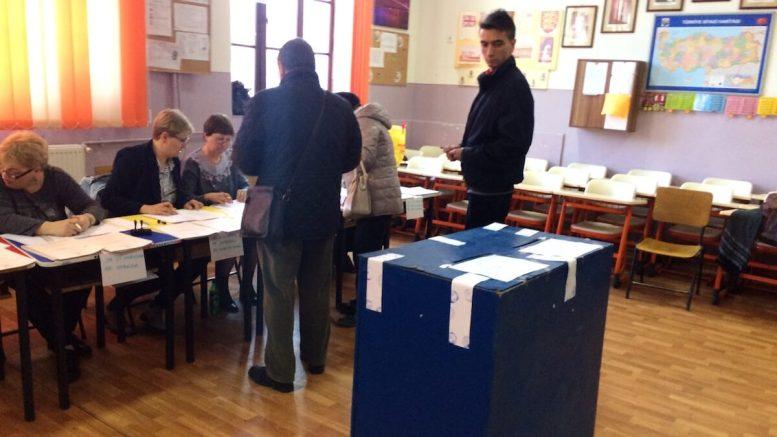 Secția de votare 203 din Constanța