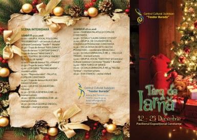 Programul Targului de Iarnă de la Constanța
