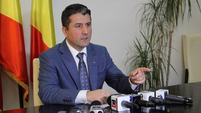 Decebal Făgădău, primarul municipiului Constanța. FOTO Adrian Boioglu