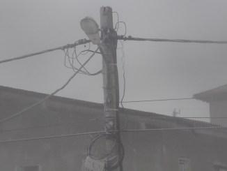 Cabluri electrice, iarna. FOTO Adrian Boioglu