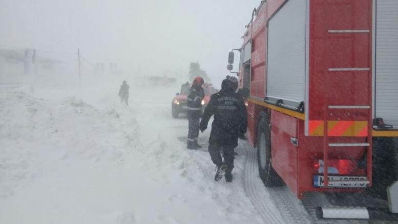 Pompierii militari au intervenit în timpul Codului Roșu