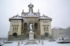Iarna la Constanța. FOTO Ovidiu Oprea