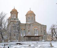 Catedrala Sfinții Petru și Pavel, Iarna la Constanța. FOTO Ovidiu Oprea