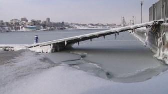 Marea înghețată în ianuarie 2017