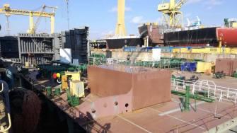 Șantierul Naval Daewoo Mangalia (DMHI). FOTO CJC