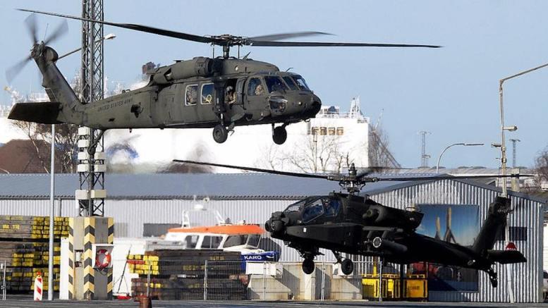Elicopterele americane, gata de exercițiu. FOTO 10th Combat Aviation Brigade / Facebook