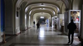 Sala Pașilor Pierduți din Iași. FOTO Adrian Boioglu