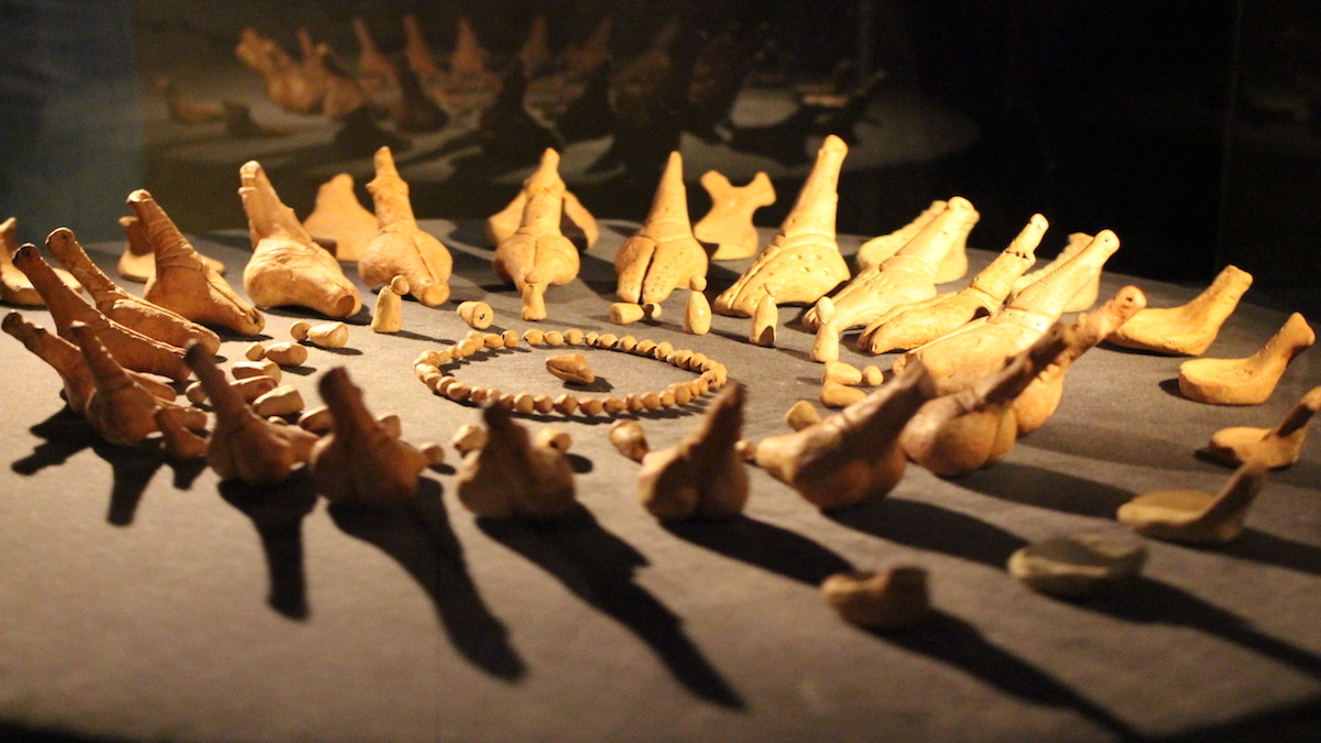 Ceramică de Cucuteni. FOTO Adrian Boioglu