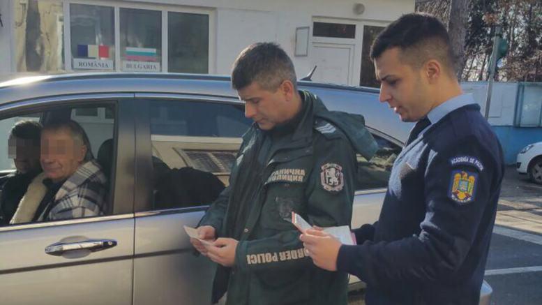 Control de frontieră. FOTO Garda de Coastă Constanța