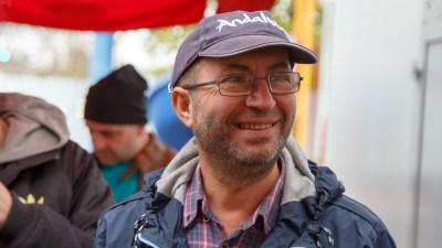 Florin Bărhălescu, ghid Iași City Tour. FOTO Daniel Năstase
