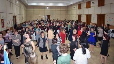 8 Martie la Cumpăna. FOTO Facebook / Știri Cumpăna