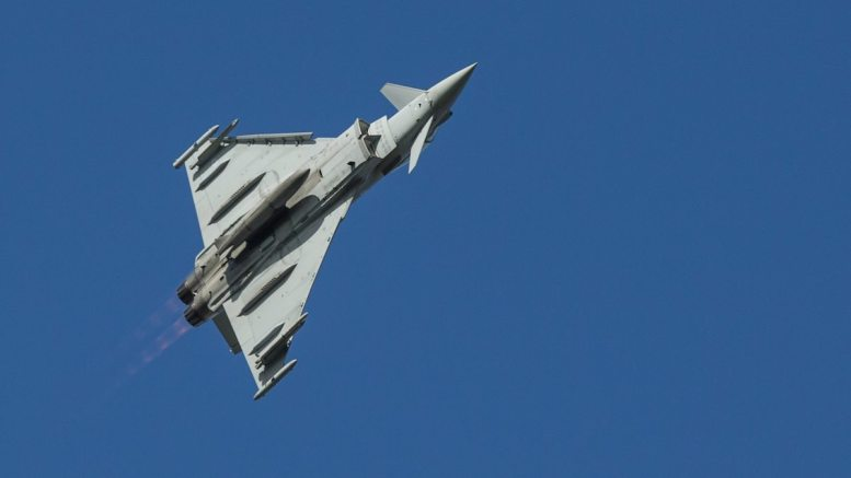 Forțele Aeriene Regale. FOTO Royal Air Force Coningsby