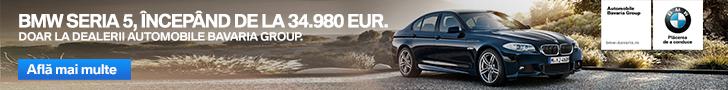BMW Seria 5 la Automobile Bavaria Group